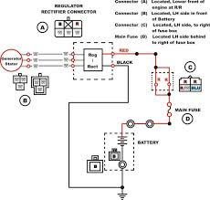 pin regulator rectifier wiring diagram wiring diagram 4 wire regulator rectifier wiring diagram the