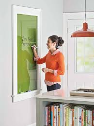 build a large glass dry erase board free plans on remodelaholic com