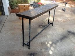 Sofa Table Diy Diy Industrial Pipe Sofa Table Sofa Tables Pipes And Industrial