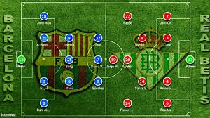 Permalink to 20+ Barcelona Vs Betis Lineup Background