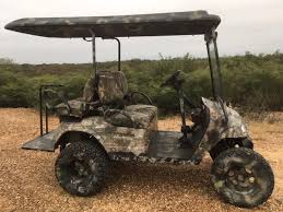 golf cart camouflage camo seat top