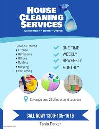 House Cleaning Services Flyers Create The Perfect Design By Customizing Easy To Use