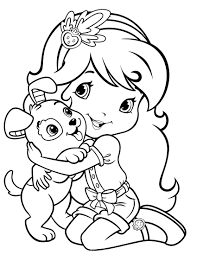 Strawberry Shortcake Coloring Pages Games Coloring