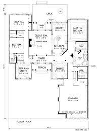 u shaped house floor plans h plan c