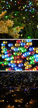 diy garden string lights. solar starry fairy outdoor string lights | cheap lighting ideas for weddings easy garden diy