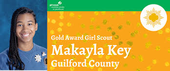 Makayla Key Earns Girl Scouts Highest Honor – gscp2pblog.com