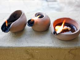 DIY - How to Make a Clay Oil Lamp