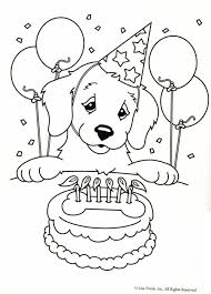 10 Birthday Lineart Coloring Book For Free Download On Ayoqqorg