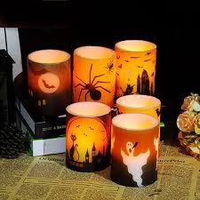 Small Picture Halloween Candle Decoration Led Candela Et Chandelles Znicz