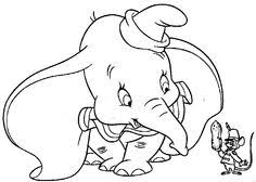 95 Best Dumbo Images In 2017 Colouring Pages For Kids Coloring