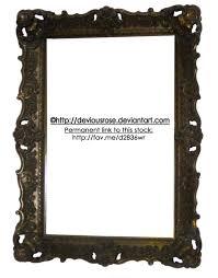 Ornate Frame Stock PNG by DeviousRose on DeviantArt
