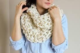 Free Infinity Scarf Crochet Pattern Stunning Chunky Crochet Infinity Scarf FREE PATTERN