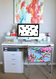 cute office desk ideas best inspiration images on design offices decorating