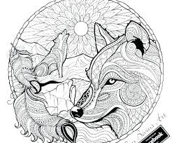 Printable Realistic Wolf Coloring Pages Animal Forest C Jafevopusitop