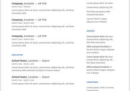 Google Docs Resume Template Free Google Docs Resume Template In English Resume Marvelous 36