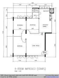 5 room standard 1974 1980 117 123 sqm two toilets sample floor plan