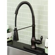 Bronze Kitchen Sink Faucets Kitchen Oil Rubbed Bronze Kitchen Faucet With Pull Down Handle