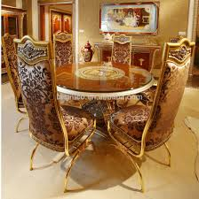 Wood Carving Dining Table