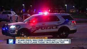Classes To Resume At Macomb Community College After Gunman Prompts