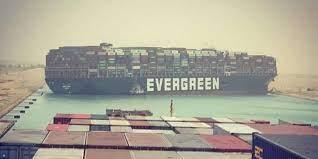 """Die blockade des suezkanals durch das containerschiff """"ever given kommt teuer zu stehen: 8m29wege6vtsrm"""