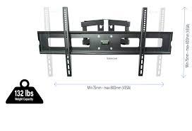 vivo full motion articulating corner wall tv mount bracket
