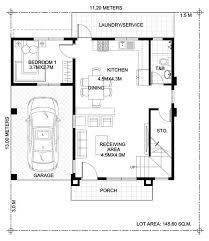 Home Design Plan 7x15m with 5 Bedrooms - House Plan Map | Two story house  design, Two storey house, House plans