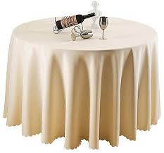 images gallery generic beige round polyester tablecloth wedding party banquet dining table