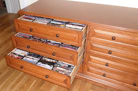 cds furniture. a great closeup view of three the media storage drawers open cds furniture