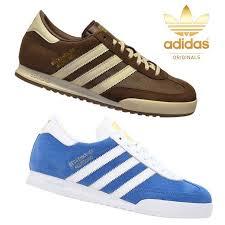 adidas adidas originals mens trainers shoes beckenbauer brown blue uk sizes 7 12