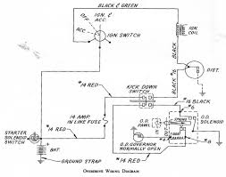 fixlst19 Hydraulic Solenoid Wiring Diagram the above diagram is for 1964 and later over drives with 3 terminals on the od solenoid the end have fun with the information