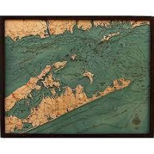 Wood Chart Long Island Sound