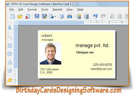 Printable Identification Card Id Cards Designing Software Printable Identification Card Creator