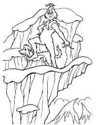 Small Picture The grinch and his dog max coloring pages Hellokidscom