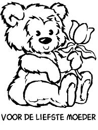 Speciale Dagen Moederdag Kleurplaat Animaatjesnl