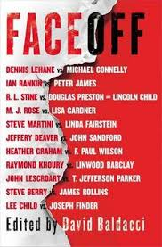 in a one of a kind short story anthology faceoff edited by david baldacci is eleven stories featuring tw