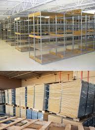 used lozier stockroom shelving shelves usrsls