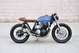 blue 73 cb750 build