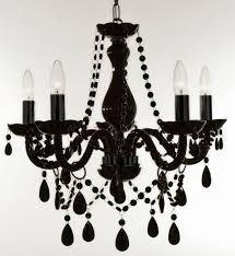dramatic black chandeliers i m thinking pink walls