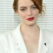 how to find the best part for your face shape 2016 emma stone with updo