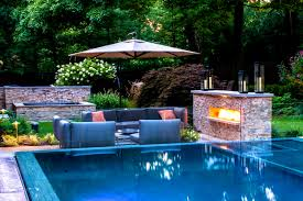 Small Picture Pool Garden Design Captivating Home Ideas Exciting Pool Landscape