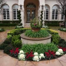 circle driveway landscaping