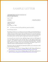 Certified Mail Letter Template Certified Mail Letter Sample Letters