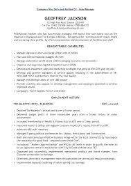 Bilingual Resumes How To Write Key Skills In Resume Competencies Summary Bilingual