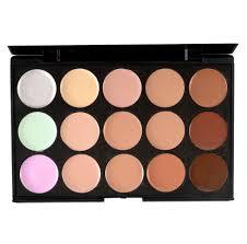 15 color face contour kit highlighter makeup kit cream concealer palette