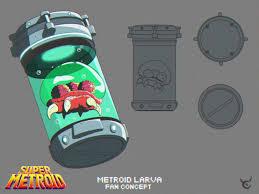 ArtStation - Metroid Larva Concept, Derrick Fields | Metroid, Pokemon,  Super metroid