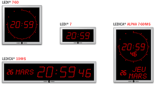 among our range of digital clocks find a wide choice of models adaptable to your needs