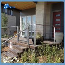steel cable railing. Residential Cable Railing Hardware Balustrade Stainless Steel