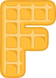 F Alphabet Waffel Kostenlose Vektorgrafik Auf Pixabay