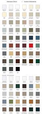 Charte Des Couleurs Aluminium Arcan Aluminium