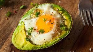 Resultado de imagen de Desayuno saludable con aguacate